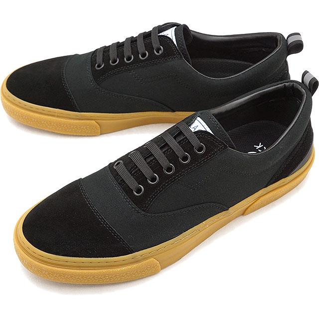 【10%OFFクーポン対象品】スラック SLACK リセント RECENT スニーカー 靴 メンズ・レディース BLACK/GUM [SL1478-009 FW18]