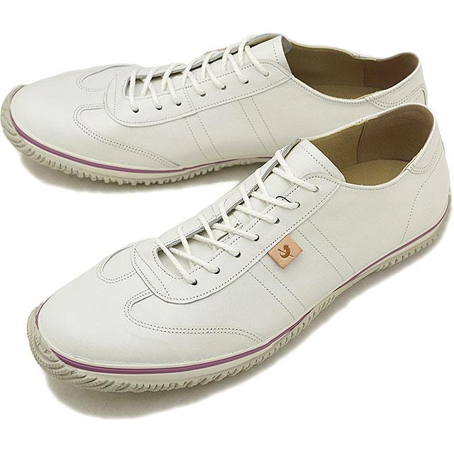 【即納】【返品送料無料】スピングルムーブ SPINGLE MOVE SPM-122 カンガルーレザー スニーカー メンズ レディース 靴 シューズ White (SPM122-61 FW18)【コンビニ受取対応商品】