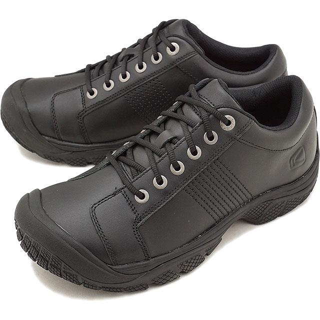 キーン KEEN メンズ ピーティーシー オックスフォード MEN PTC OXFORD プロ ワークシューズ 靴 Black [1006980 FW18]