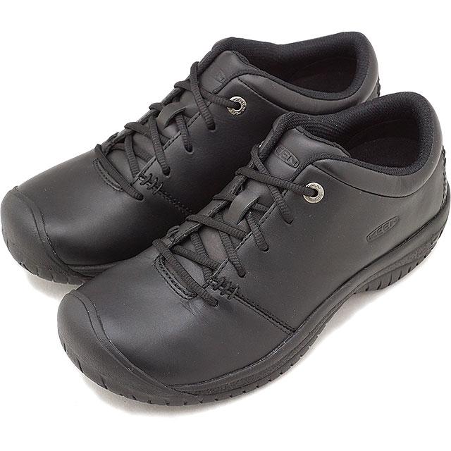 キーン KEEN レディース ピーティーシー オックスフォード WOMEN PTC OXFORD プロ ワークシューズ 靴 Black [1006999 FW18]