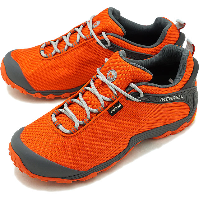 search for genuine first rate temperament shoes メレル MERRELL men chameleon 7 storm Gore-Tex M CHAMELEON7 STORM GORE-TEX  perfection waterproofing outdoor trekking shoes shoes SPICY ORANGE [31135  FW18]
