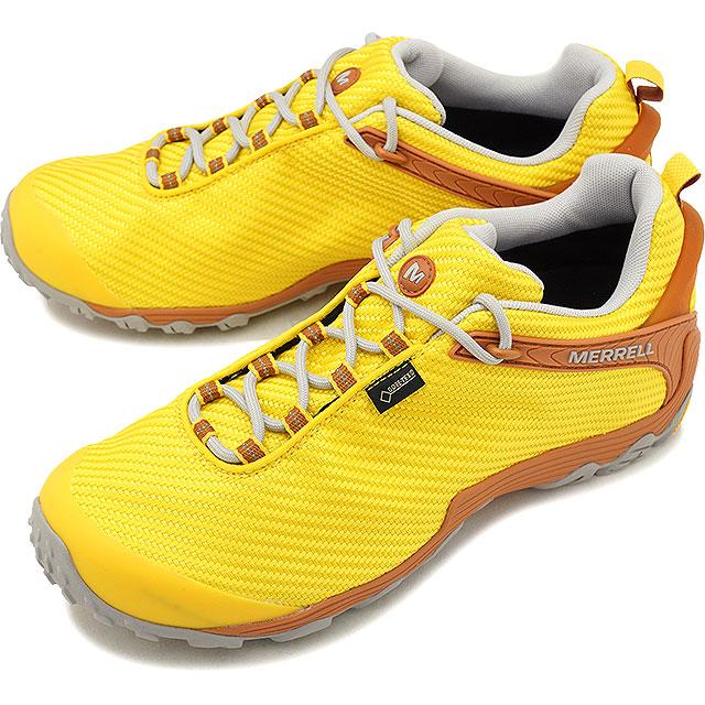 【即納】メレル MERRELL メンズ カメレオン7 ストーム ゴアテックス M CHAMELEON7 STORM GORE-TEX 完全防水 アウトドア トレッキングシューズ 靴 DANDELION [36479 FW18]