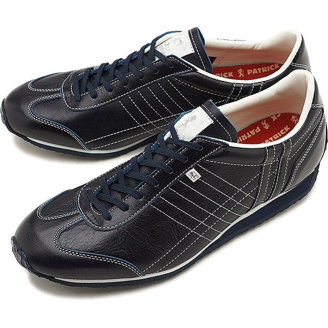 【即納】【返品送料無料】パトリック PATRICK パミール PAMIR メンズ レディース スニーカー 靴 ネイビー E-NVY (27682 FW18)【コンビニ受取対応商品】