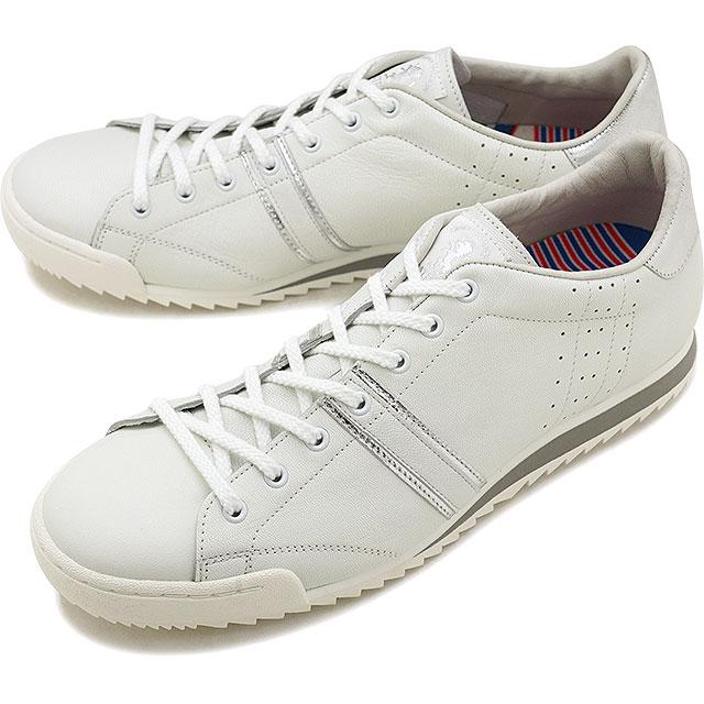 【即納】【返品送料無料】パトリック PATRICK グスタード GSTAD メンズ レディース スニーカー 靴 ホワイト/シルバー WH/SV (11850 FW18)【コンビニ受取対応商品】