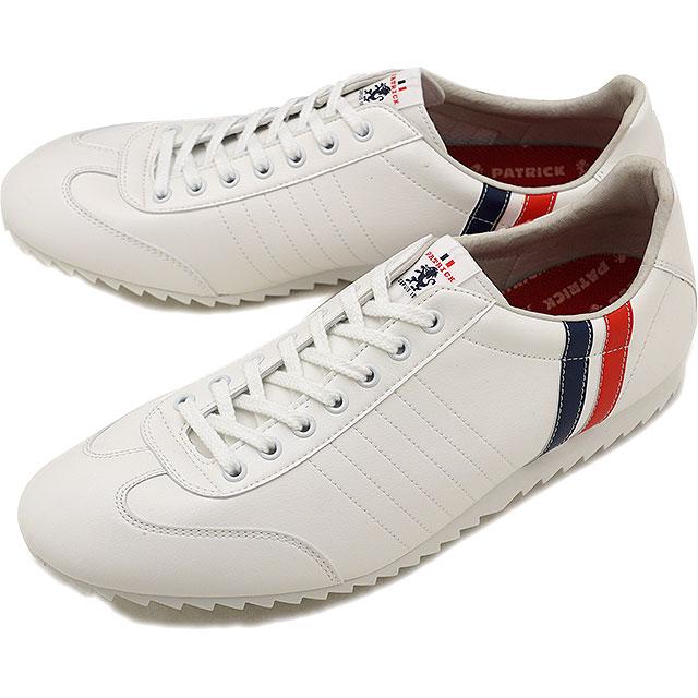 【即納】【返品送料無料】パトリック PATRICK リプノ LIPNO メンズ レディース スニーカー 靴 ホワイト WHT (530670 FW18)【コンビニ受取対応商品】
