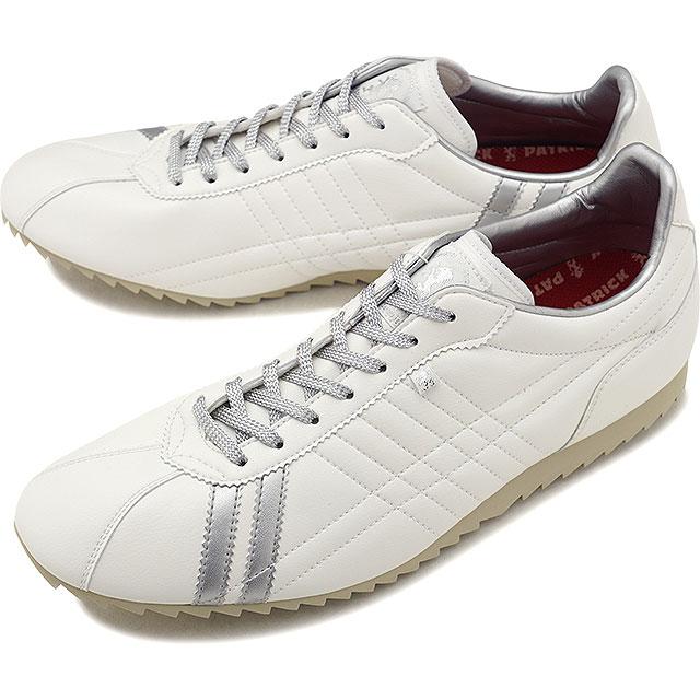 【即納】【返品送料無料】パトリック PATRICK シュリー SULLY メンズ レディース スニーカー 靴 ホワイト/シルバー WH/SV (26680 FW18)【コンビニ受取対応商品】