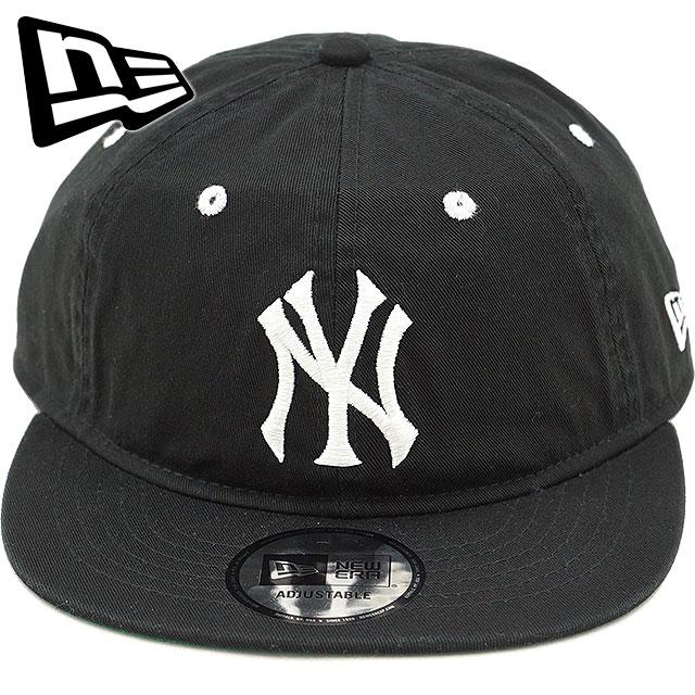 New gills cap NEWERA New York Yankees flat visor 9THIRTY NY FV BASIC  FABRICS CAP adjuster bulldog men gap Dis hat black (11781574 FW18) f42ad281de5