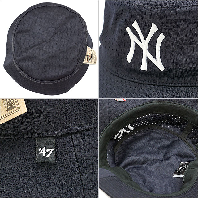 9599c3e973c8d mischief  Forty seven brand Yankees  47Brand backboard pail hat ...