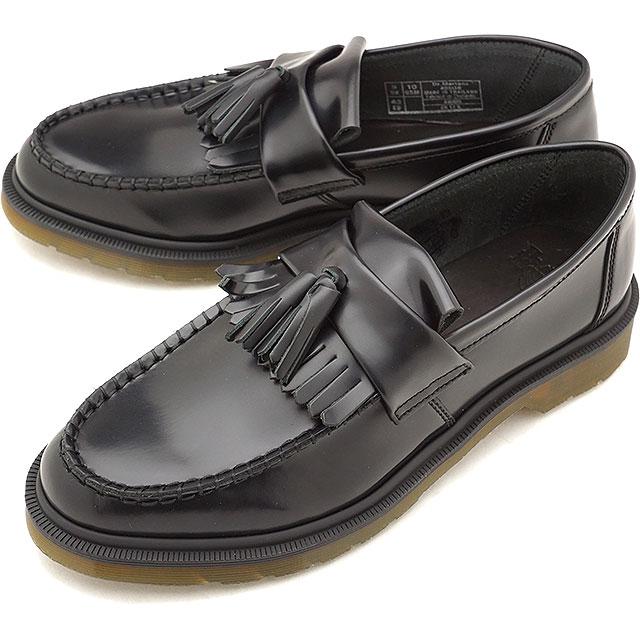 Dr.Martens ドクターマーチン タッセルローファー ADRIAN アドリアン メンズ・レディース ブラック 靴 [14573001 FW18]