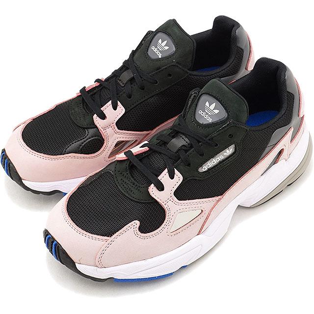 adidas Originals Adidas originals Lady's FALCON W falcon Win men sneakers shoes C black C black light pink [B28126 FW18]