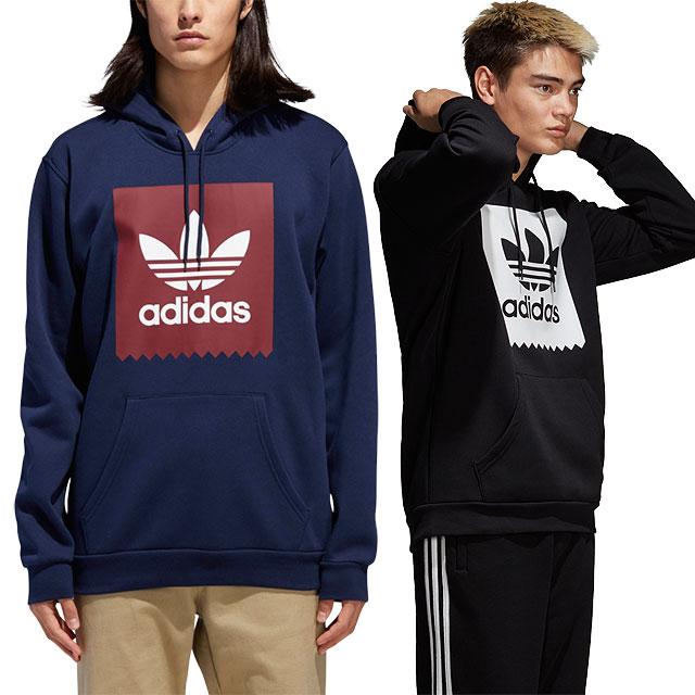 adidas Originals Adidas skateboarding parka men SOLID BLACKBIRD HOODIE ソリッドブラックバードフーディー (ETW30CW2358 DH3877 FW18)