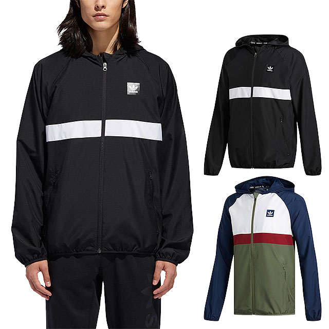 adidas Originals Adidas skateboarding jacket men BLACKBIRD PACKABLE WIND JACKET ブラックバードパッカブルウィンドジャケット [BHX25DH3872 DH3873 FW18][s][e]