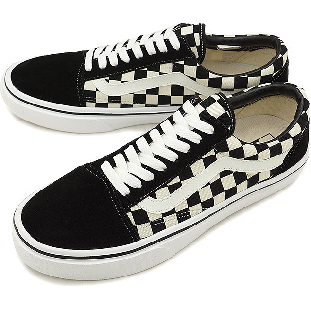 d37b3aaf66 VANS station wagons JAPAN LTD Japan limited OLD SKOOL LITE old school  station wagons sneakers shoes BLK WHT CHK (V36LITE FW18)