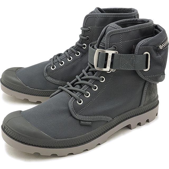 """PALLADIUM パラディウム Pampa Solid Ranger NYC パンパ ソリッド レンジャー """"ニューヨーク"""" スニーカー 靴 メンズ Forged Iron (76013-075 FW18)【コンビニ受取対応商品】"""