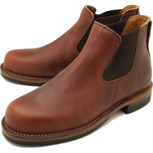 【即納】Danner ダナー サイドゴアブーツ 革靴 WEST THUMB ウェスト サム ワークブーツ メンズ D.BROWN (D-1811 FW18)【コンビニ受取対応商品】