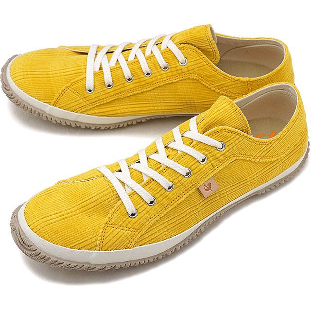 【返品送料無料】スピングルムーブ SPINGLE MOVE SPM-144 コーディロイ スニーカー メンズ レディース 靴 シューズ Yellow [SPM144-28 FW18]