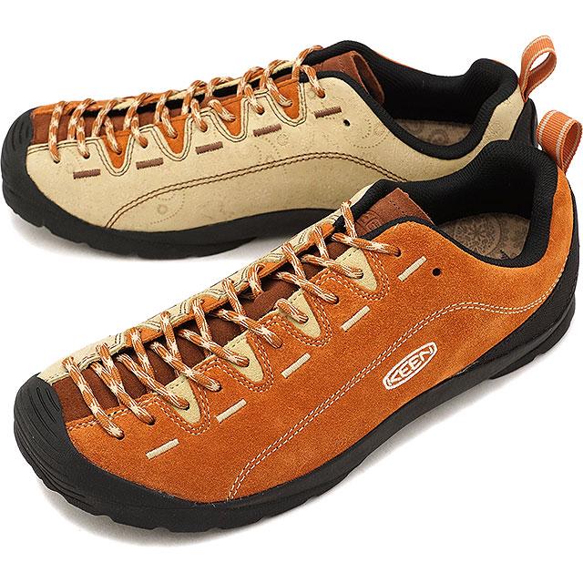 【即納】キーン KEEN メンズ ジャスパー MEN JASPER コンフォートシューズ アウトドアスニーカー 靴 Pollen/Brown Paisley (1019467 FW18)【コンビニ受取対応商品】