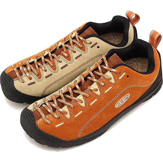 【即納】キーン KEEN レディース ジャスパー WOMEN JASPER コンフォートシューズ アウトドアスニーカー 靴 Pollen/Brown Paisley (1019482 FW18)【コンビニ受取対応商品】