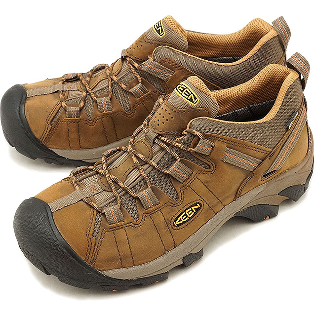 ac46d2866ec Kean KEEN men Targhee two waterproof MEN TARGHEE II WP hiking trekking  shoes boots shoes Cascade Brown/Brown Sugar (1010125 FW18)