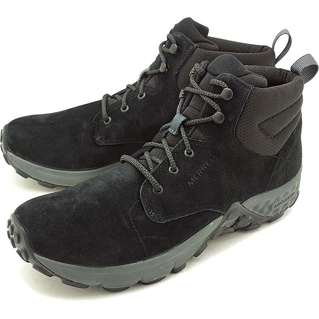 メレル MERRELL メンズ ジャングルグレイリング ミッド エーシープラス M JUNGLE GRAYLING MID AC+ エアクッション コンフォートシューズ スニーカー 靴 BLACK (95289 FW18)【コンビニ受取対応商品】