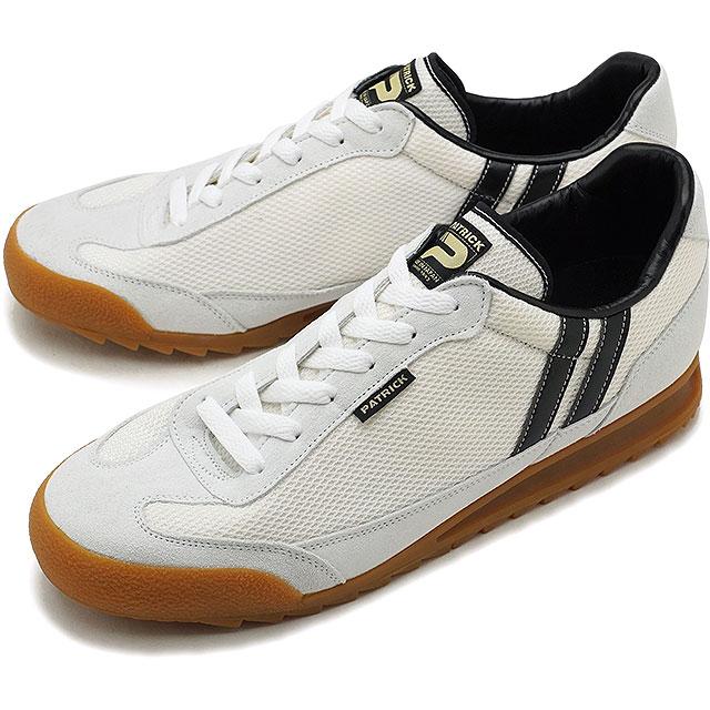 【即納】【返品送料無料】パトリック PATRICK ブロンクス BRONX メンズ レディース スニーカー 靴 ホワイト/ブラックWH/BK (3000-J FW18)【コンビニ受取対応商品】