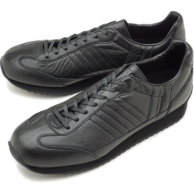 【返品送料無料】【シーズン限定】パトリック PATRICK マラレイン MARARAIN メンズ レディース スニーカー マラソン 日本製 靴 ブラック系 BLK [530711]