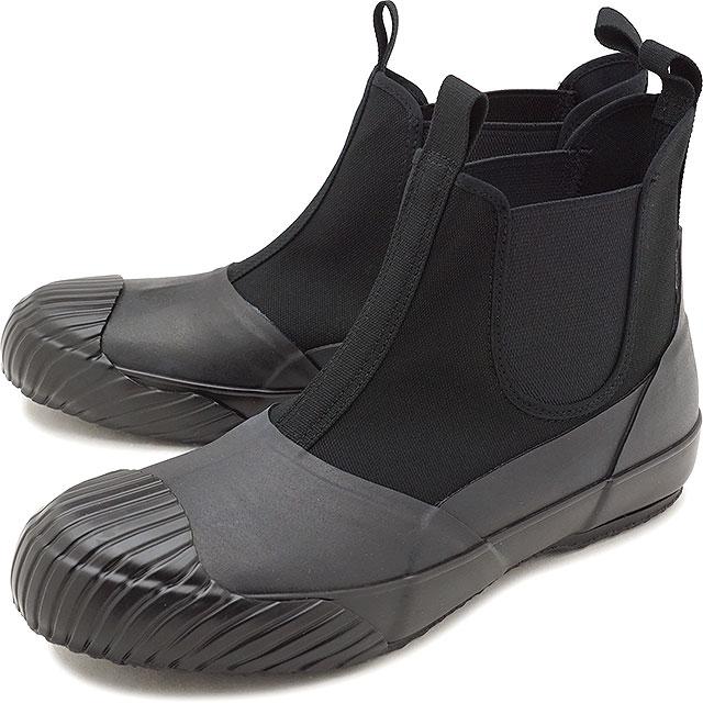 ムーンスター ファインバルカナイズド Moonstar FINE VULCANIZED オールウェザー サイドゴア ALW SIDEGOA メンズ レディース 日本製 スニーカー 靴 BLACK [54321186 FW18]