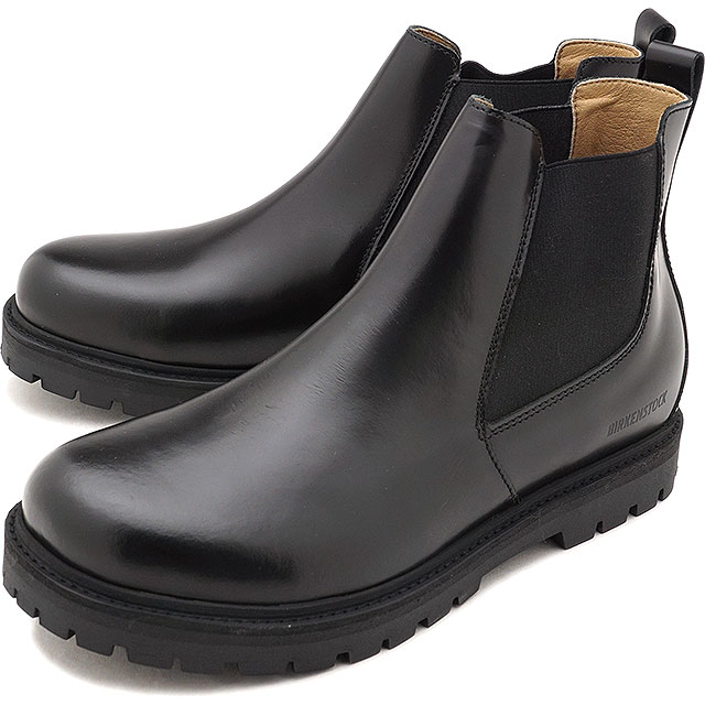 ビルケンシュトック BIRKENSTOCK studio Ron Stalon men Lady's side Gore boots comfort shoes shoes BLACK [GS1010661 GS1010771 FW18]
