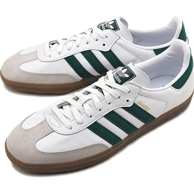 differently 192a9 1f66c adidas Originals Adidas originals SAMBA OG samba OG men sneakers shoes R  white  C eight green  C white S16 (B75680 FW18)
