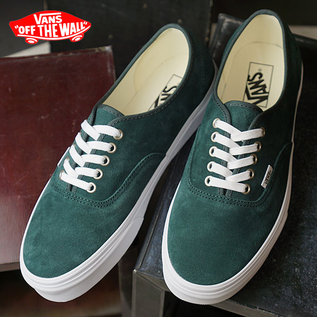 c62f381f9aa VANS station wagons PIG SUEDE PIIGS aide AUTHENTIC authentic vans sneakers  shoes DARKEST SPRUCE TRUE WHITE (VN0A38EMU5J FW18)