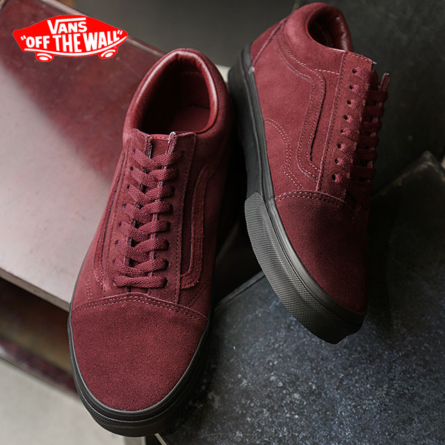 maroon vans with black sole \u003e Factory Store