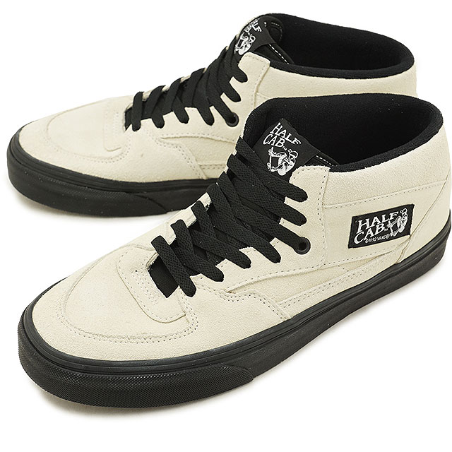 17873e0d41 VANS station wagons BLACK OUTSOLE blackout sole HALF CAB half cab vans  sneakers shoes CLASSIC WHITE BLACK (VN0A348EU8T FW18)