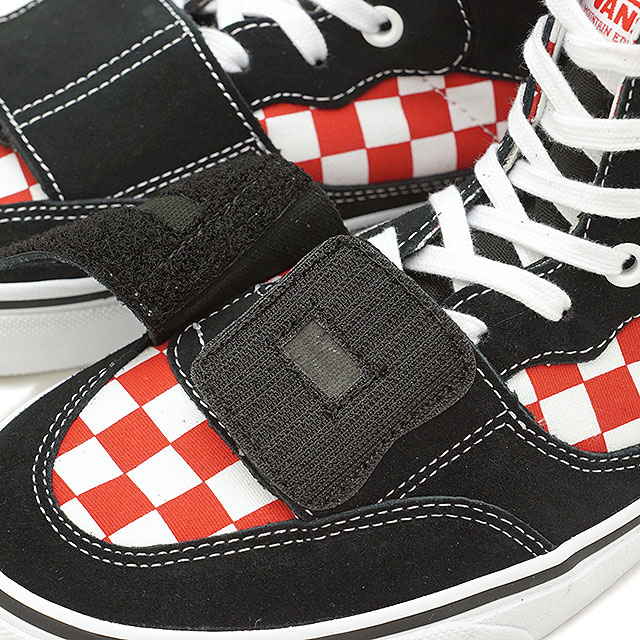 1dead92513 VANS station wagons CHECKERBOARD checkerboard MOUNTAIN EDITION mountain  edition vans sneakers shoes BLACK RED (VN0A3TKG35U FW18)