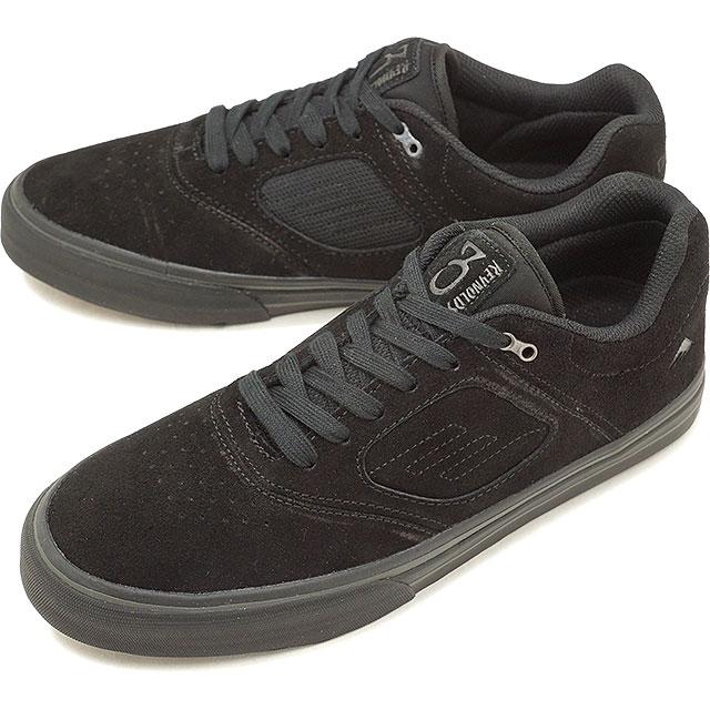 【5%OFFクーポン対象品】Emerica エメリカ REYNOLDS 3 G6 VULC レイノルズ3 G6 ヴァルカ スニーカー 靴 スケートシューズ スケシュー メンズ・レディース BLACK/BLACK [FW18]