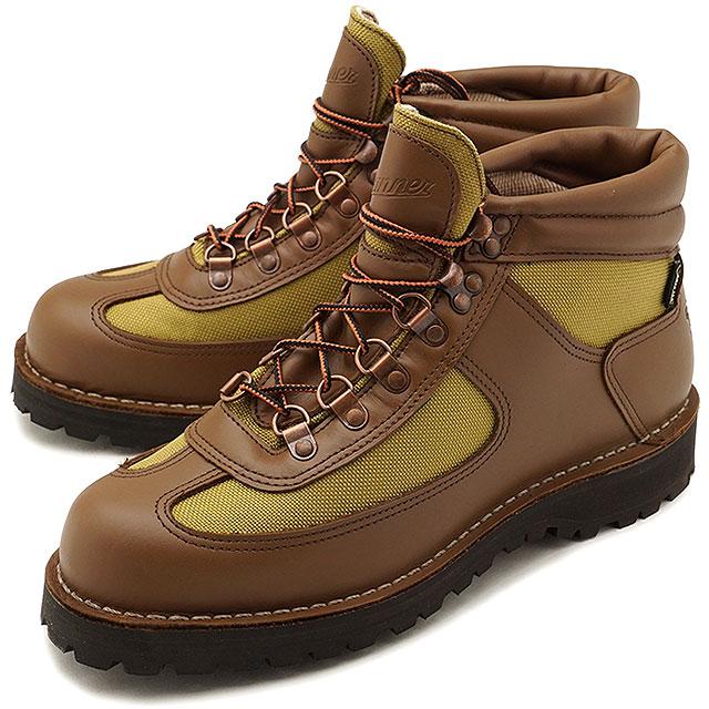 【即納】Danner ダナー フェザーライト リバイバル FEATHER LIGHT REVIVAL アウトドア ブーツ メンズ BROWN/KHAKI 靴 (30125 FW18)【コンビニ受取対応商品】