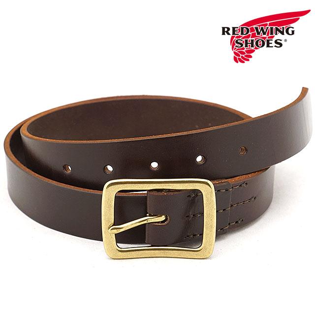 【即納】REDWING レッドウィング #96561 レザーベルト 32mm幅 Leather Belt メンズ Havana Brown [96561 FW18]