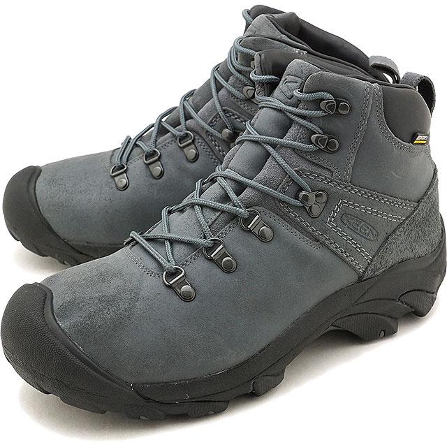 【25%OFF/SALE】キーン KEEN メンズ ピレニーズ MEN PYRENEES ハイキング トレッキングシューズ ブーツ 靴 Steel Gray/Black [1019464 FW18]【ts】【e】