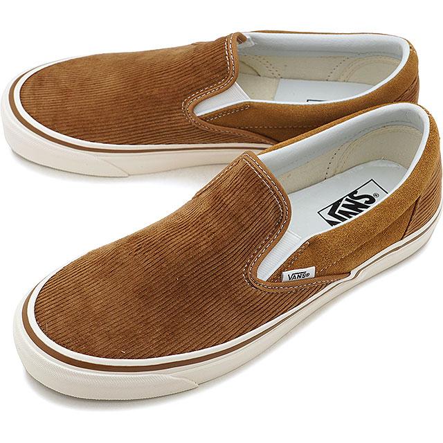 a0556140d85532 Vans VANS classical music slip-on 98 DX Anaheim factory CLASSIC SLIP-ON 98  DX ANAHEIM FACTORY slip-ons men gap Dis sneakers shoes OG H.BROWN CORDUROY  ...