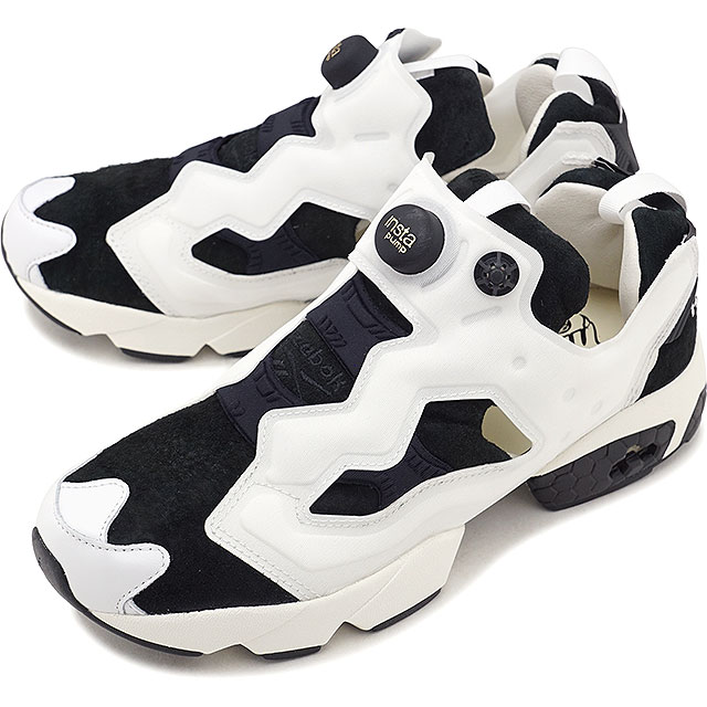 Reebok classical music Reebok CLASSIC インスタポンプフーリー OG INSTA PUMP FURY OG ACHM  men gap Dis sneakers shoes BLACK WHITE (AR0445 FW18) 7f74fdd0d