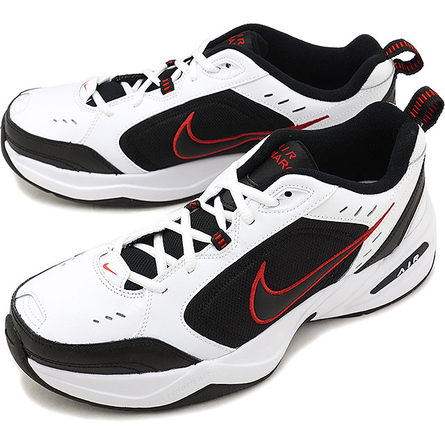 online store 640fa 63ac2 NIKE エアモナーク 4 AIR MONARCH IV sneakers men shoes white / black (415,445- ...
