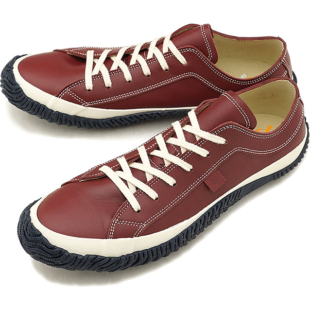 41d7b32945 スピングルムーブ SPINGLE MOVE SPM-101 mousse leather cowhide low-frequency cut  sneakers men shoes shoes Wine  SPM101-47 FW18WINTER