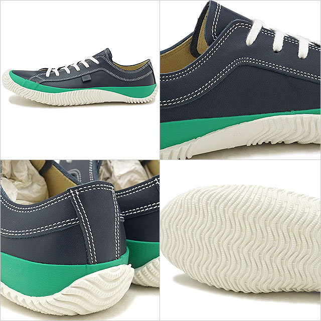 ac2d2a41d6 スピングルムーブ SPINGLE MOVE SPM-101 mousse leather cowhide low-frequency cut  sneakers men shoes shoes Navy (SPM101-39 FW18WINTER)