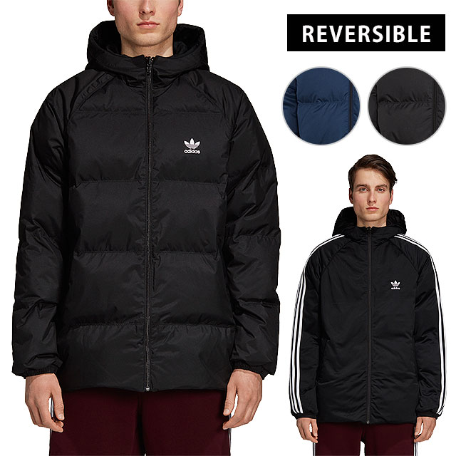 cab852177 adidas Originals Adidas originals down jacket (reversible) men's SST HOODED  DOWN JACKET superstar hooded down jacket (FJC81/DH5003 DH5004 FW18)