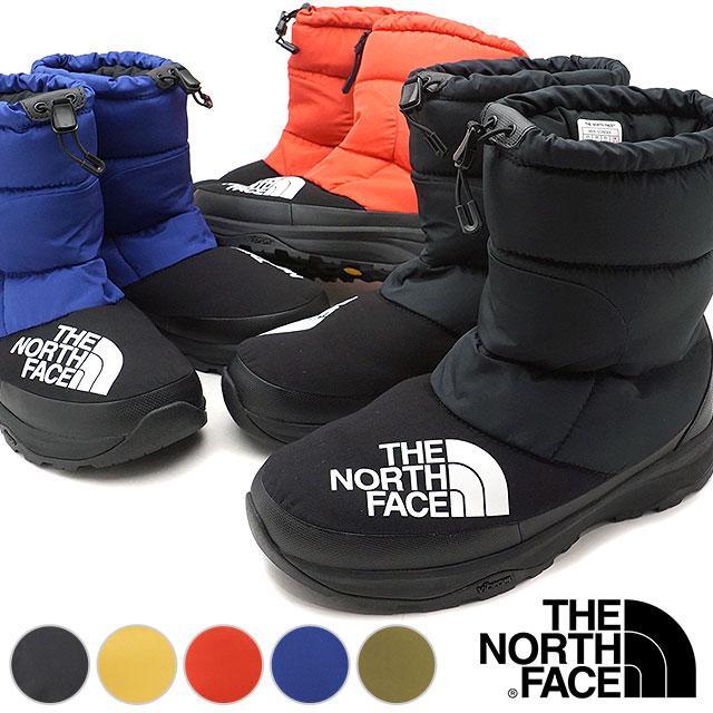 【即納】ザ・ノースフェイス THE NORTHFACE ヌプシ ダウンブーティー Nuptse Down Bootie ウィンターブーツ スノーブーツ 靴 [NF51877 FW18]