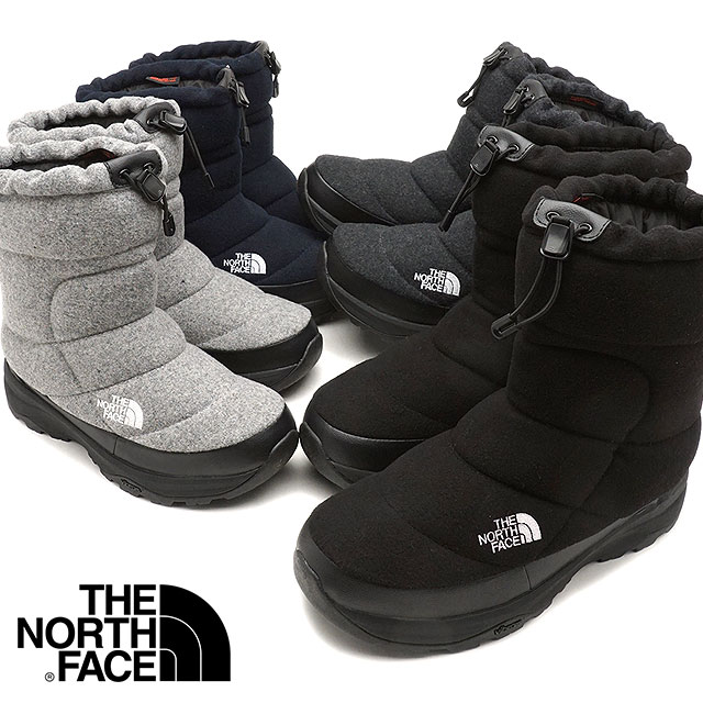 59c5a3e8d The North Face THE NORTHFACE ヌプシブーティーウール 4 Nuptse Bootie Wool IV winter  boots snow ...
