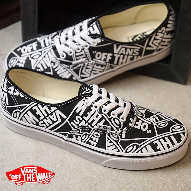 1a5d8e8690 Vans VANS authentic AUTHENTIC OTW REPEAT men gap Dis sneakers shoes BLACK T. WHITE (VN0A38EMUKK HO18)