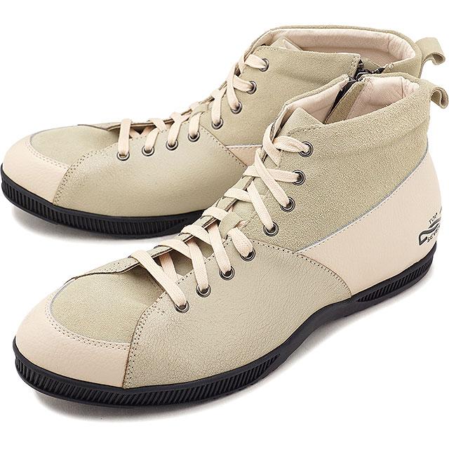 【即納】トップセブン TOP SEVEN TS-5520 アウトドデザイン ラグジュアリー スニーカー CRM/BLK メンズ 靴 (FW18)【コンビニ受取対応商品】