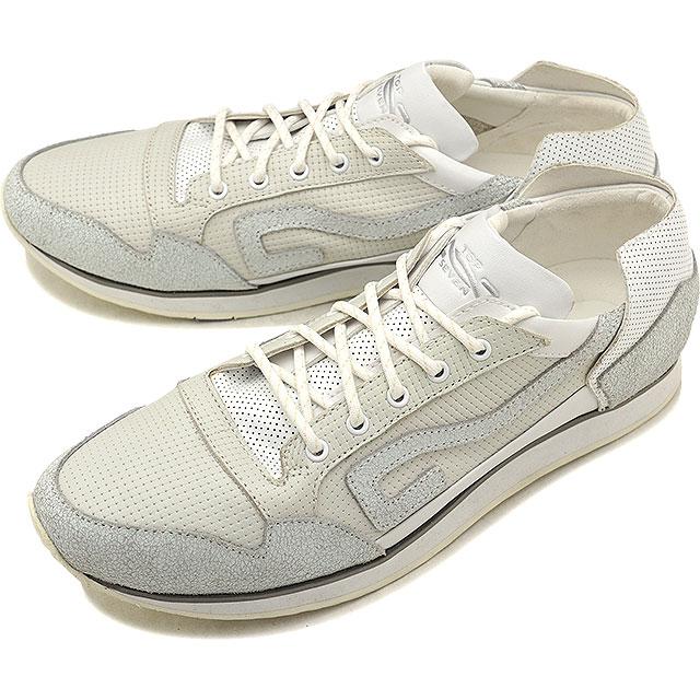【即納】トップセブン TOP SEVEN メンズ パンチングレザー TS-5513 カジュアル スニーカー 靴 WHITE ホワイト系 (EE6122 SS18)【コンビニ受取対応商品】