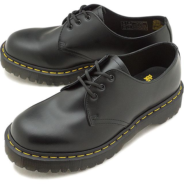 ドクターマーチン Dr.Martens 3ホールシューズ ベックス スムース 1461 BEX SMOOTH メンズ レディース 厚底 靴 BLACK [21084001 SS19]