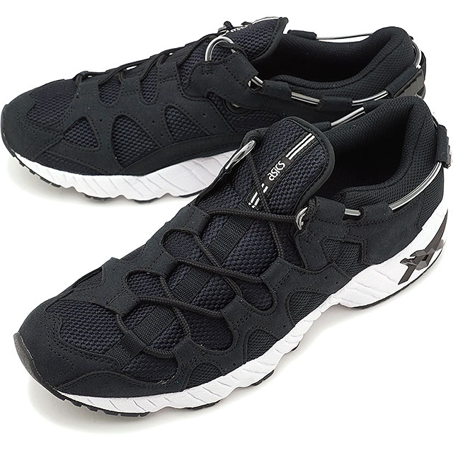 【5%OFFクーポン対象品】【即納】アシックスタイガー ASICS TIGER ゲルマイ GEL-MAI メンズ レディース スニーカー 靴 BLACK/BLACK [TQ703N-9090 SS19]